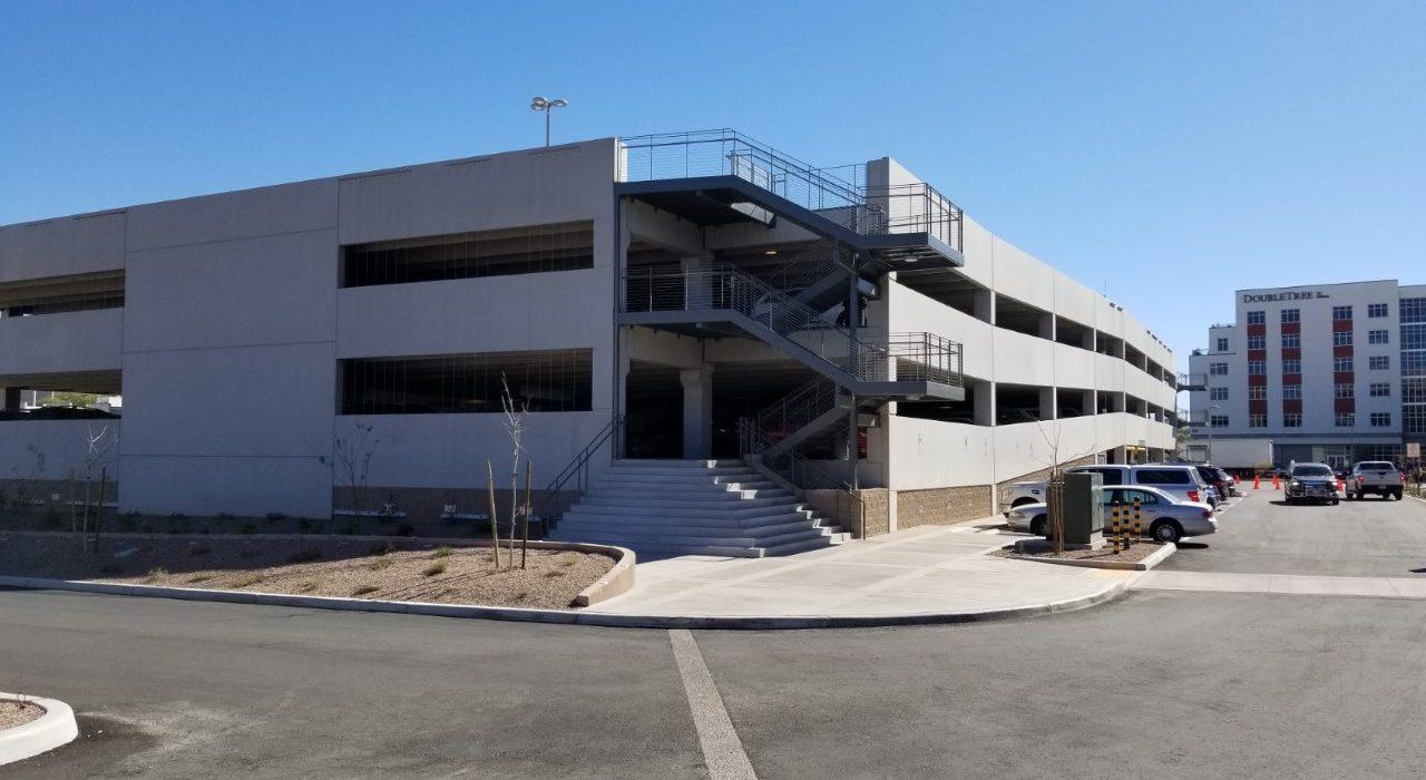 Parking Garage Lot A